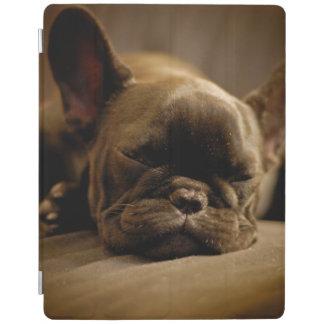 Schläfrige französische Bulldogge iPad Hülle