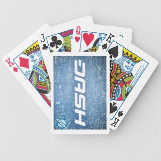 Schlag-Karten 2 Bicycle Spielkarten