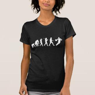 Schlag und Getröpfel - Vintages T-Stück Basketball T-Shirt