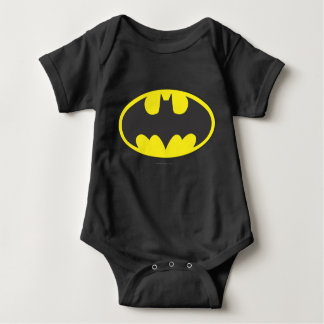 Schläger-Oval-Logo Batman-Symbol-| Babybody