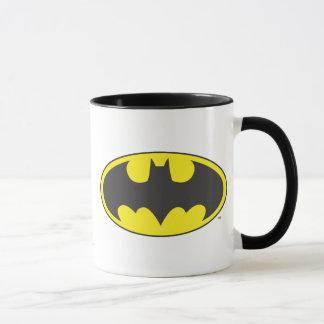Schläger-Oval-Logo Batman-Symbol-| Tasse