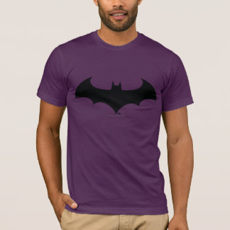 Schläger-Silhouette-Logo des Batman-Symbol-| T-Shirt