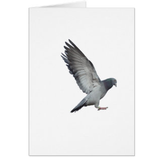Schlägt Flügel Grußkarte