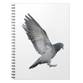 Schlägt Flügel Spiral Notizbuch