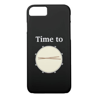 Schlagzeuger iPhone Fall-Zeit, Schlinge-Drumsticks iPhone 8/7 Hülle