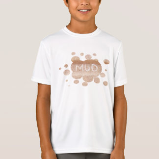 Schlamm. Lauf- und mudding inspiriertes T-Shirt