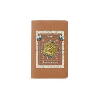 Schlange - moleskine taschennotizbuch