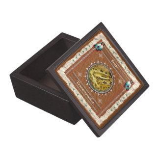 Schlange - Umwandlungs-Holz-Geschenkboxen Schmuckkiste