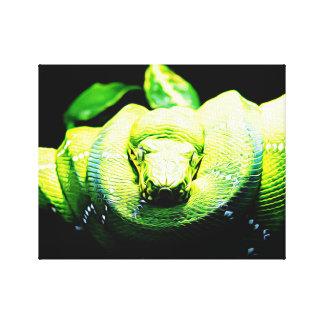 Schlangen-Malerei Galerie Gefaltete Leinwand