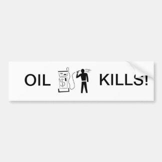 Schlechte Gaspreise? Autoaufkleber