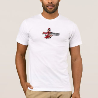 Schlechte Karma-Entwicklung - Logo-T-Stück T-Shirt