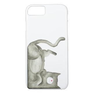 Schlechte schwermütige Katze iPhone 8/7 Hülle