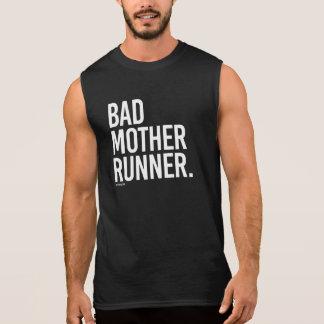 Schlechter Mutter-Läufer -   laufende Fitness - Ärmelloses Shirt
