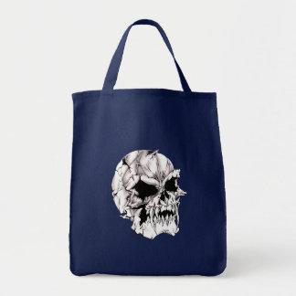 Schlechter Vampirs-Schädel Einkaufstasche
