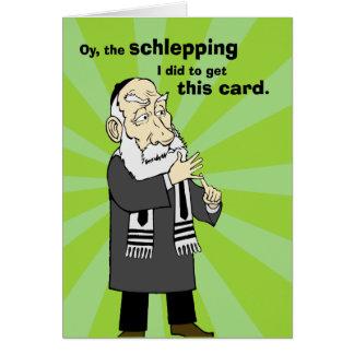 Schlepping Grußkarte