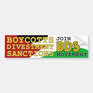 Schließen Sie sich BDS Bewegungsunterstützung Autoaufkleber