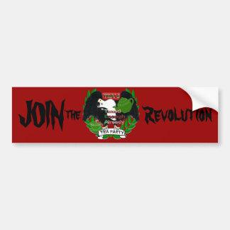 Schließen Sie sich der Revolution an Autoaufkleber