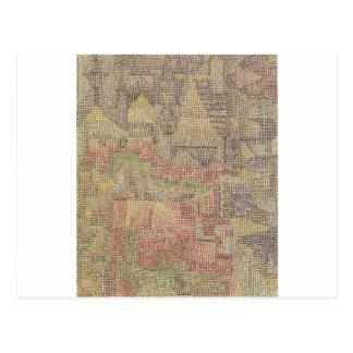 Schloss-Garten durch Paul Klee Postkarte