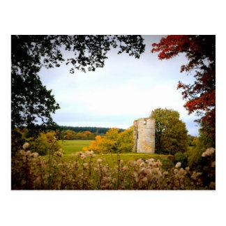 Schloss gefährlich - Postkarte