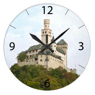 Schloss Große Wanduhr
