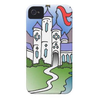 Schloss und Berge iPhone 4 Hüllen