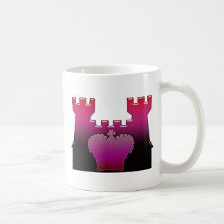 Schloss und königliche Krone Kaffeetasse