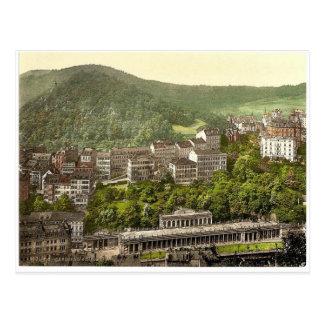 Schlossberg, Karlsbad, Böhmen, Austro-Ungarn rar Postkarte