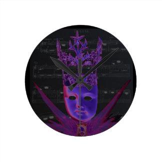 Schlüssel der Uhr des Leben-II durch violetten