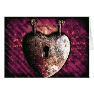Schlüssel zu meinem Herzen Karte