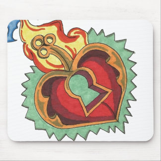Schlüssel zu meinem Herzen Mousepad