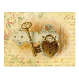 Schlüssel zu meinem Herzen Postkarte