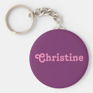 Schlüsselkette Christine Schlüsselanhänger