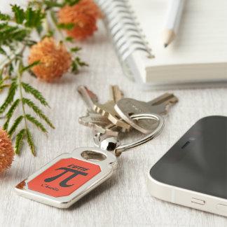 Schlüsselkette des kundenspezifischen Textes Schlüsselanhänger