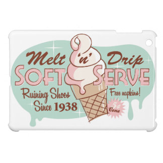 """Schmelzen Sie """"n-"""" Tropfenweiches Serve-Eiscreme iPad Mini Schale"""