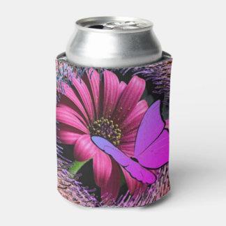 Schmetterling auf Gänseblümchen Dosenkühler