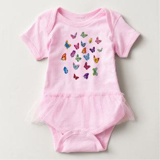 Schmetterling Baby-Ballettröckchen-Bodysuit Baby Strampler
