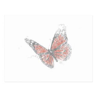 Schmetterling (Biro) Postkarte
