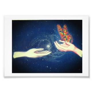 Schmetterling der Freundschaft Fotodruck