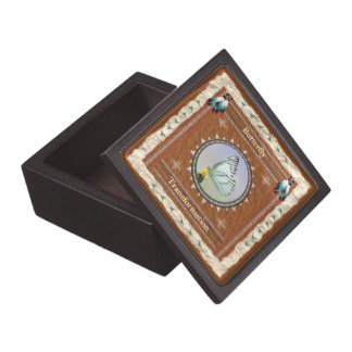 Schmetterling - Umwandlungs-Holz-Geschenkboxen Kiste