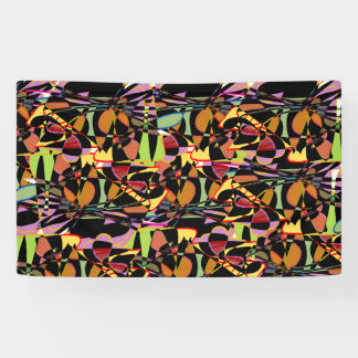 Schmetterlinge - abstrakt banner