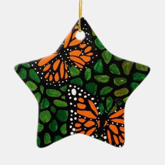 Schmetterlinge Keramik Ornament