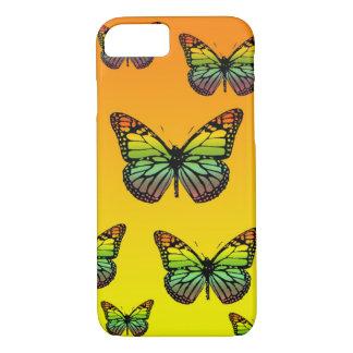 Schmetterlinge Mehrfarben iPhone 8/7 Hülle