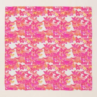 Schmetterlinge, Rosa, Fuchsie und Koralle Schal