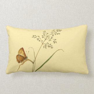 Schmetterlinge und Gras-Wurfs-Kissen 16x16 Lendenkissen