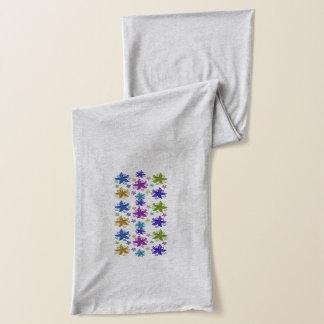Schmetterlings-Blumen Schal