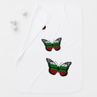Schmetterlings-Bulgare-Flagge Kinderwagendecke