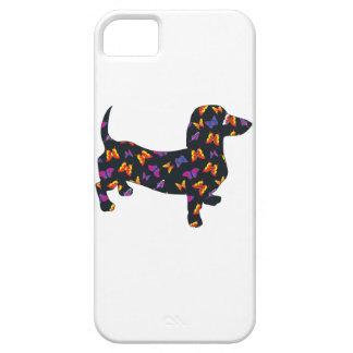 Schmetterlings-Dackel-Dackel iPhone 5 Cover