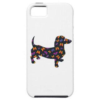 Schmetterlings-Dackel-Dackel iPhone 5 Schutzhüllen