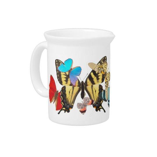 Schmetterlings-Krug Getränke Krüge