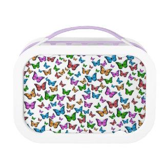 Schmetterlings-Muster-Entwurf Brotdose